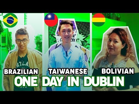 BRAZILIAN, BOLIVIAN AND TAIWANESE: ONE DAY IN DUBLIN | SEDA College