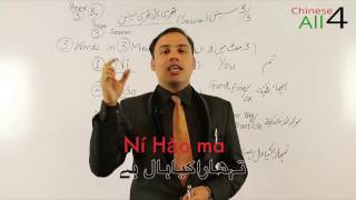 lesson no 2 learn three words of chinese language free