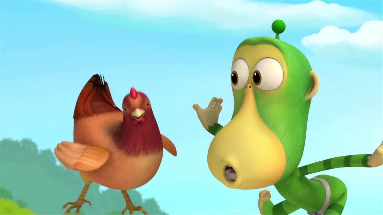 Video thumbnail for: Cartoons For Children - Alien Monkeys - Animation For Kids