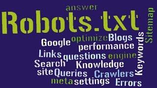 Создание и продвижение блога. Файл robots txt для сайта wordpress