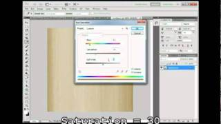 How To Create A Realastic Wood Effect In Photoshop Cs5