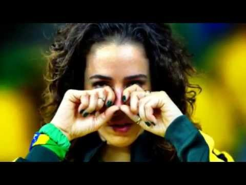 Fans crying! Brazil vs Germany 1-7 FIFA World Cup Semi Finals 2014