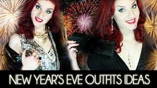 2 Outfit per CAPODANNO: Total Black & Gold Baroque | OOTN New Year's Eve Outfits Ideas Lookbook Thumbnail