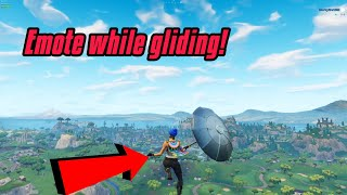 Dance While Gliding Glitch In Fortnite (New) Fortnite Glitches PS4/Xbox one/PC