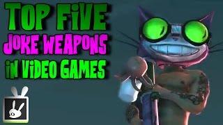 Top Five Joke Weapons in Video Games
