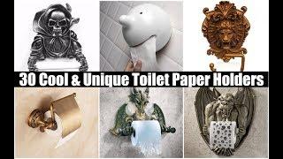 30 Cool & Unique Toilet Paper Holders