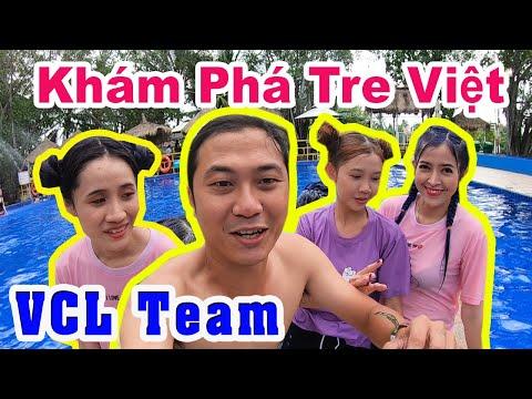 Khám Phá Khu Du Lịch Tre Việt Cùng VCL Team - Thạc Đức Vlog @Linh Vyy Official