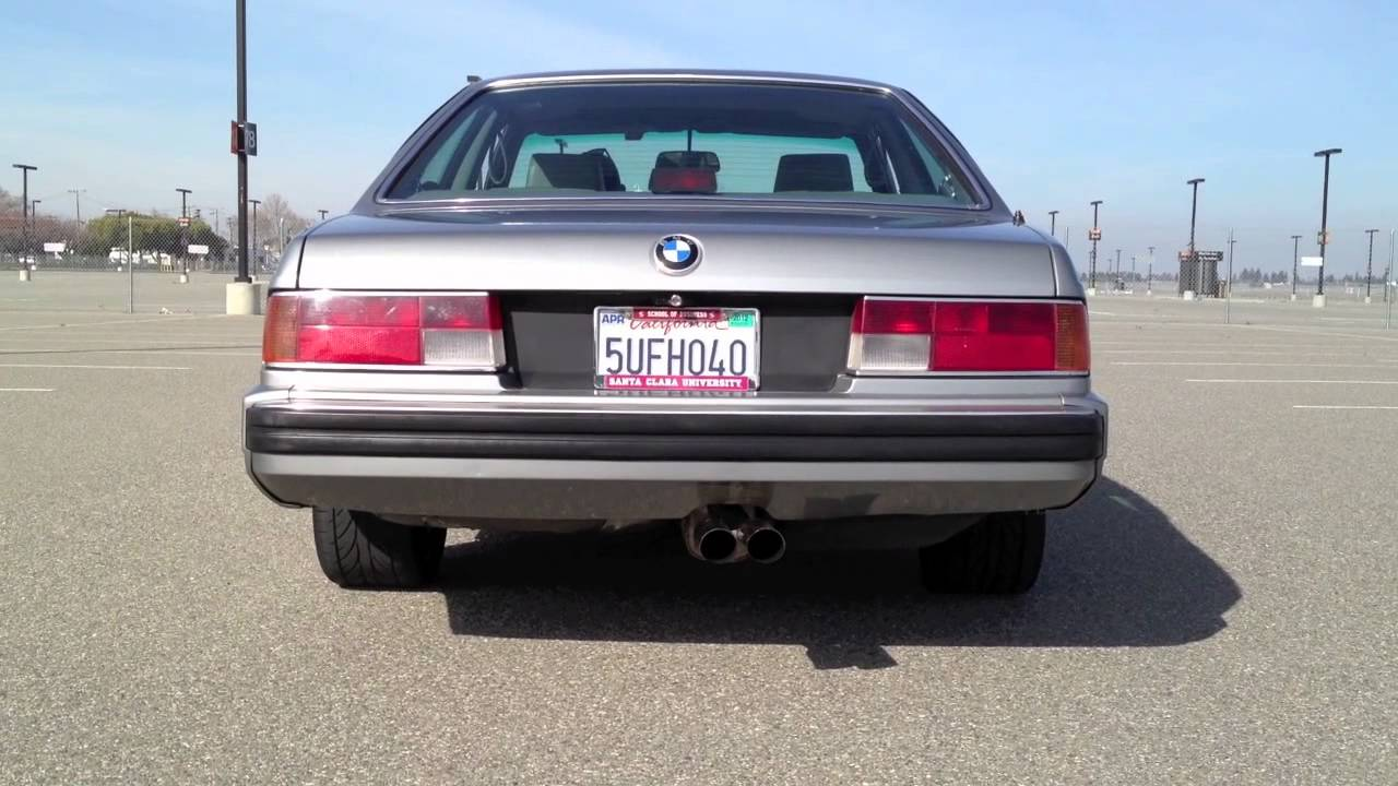 1988 Bmw 635csi With Stebro Exhaust Youtube