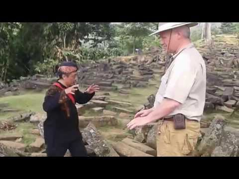 Dr. Semir Osmanagić at Gunung Padang Megalithic Site, Indonesia