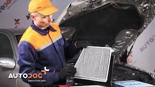 Wymiana filtr kabinowy MERCEDES-BENZ E W211 TUTORIAL | AUTODOC