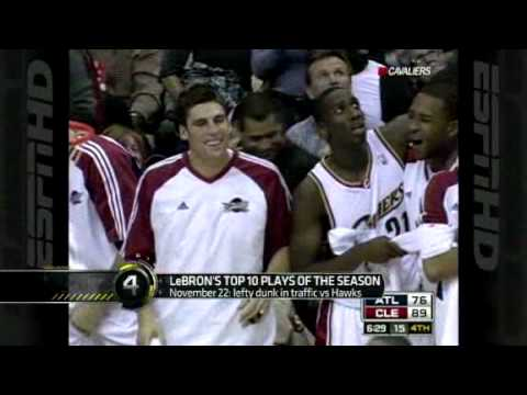 Lebron James Top Ten Plays of 2008-2009 season