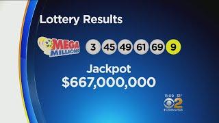 Mega Millions Winning Numbers Revealed