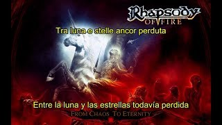 Rhapsody of Fire - Anima Perduta (Lyrics & Sub. Español)