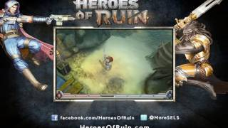 Heroes of Ruin - Walkthrough Gameplay Trailer (3DS)