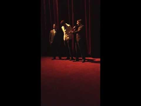 JOBS premiere  w Ashton Kutcher, Josh Gad, and director Joshua Michael Stern