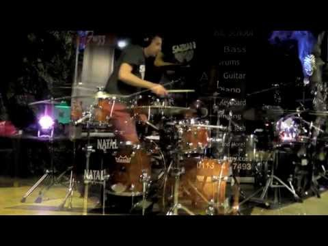 Natal Drum Clinic Feat - Paul Hose, Rob Hirons & Glenn Hallam Pt 10 @The Brit Club, Nottingham 2013