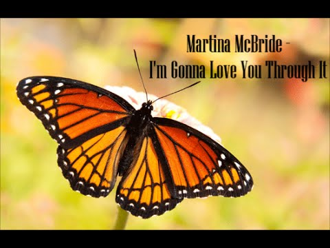 Martina McBride - I'm Gonna Love You Through It (Lyrics)