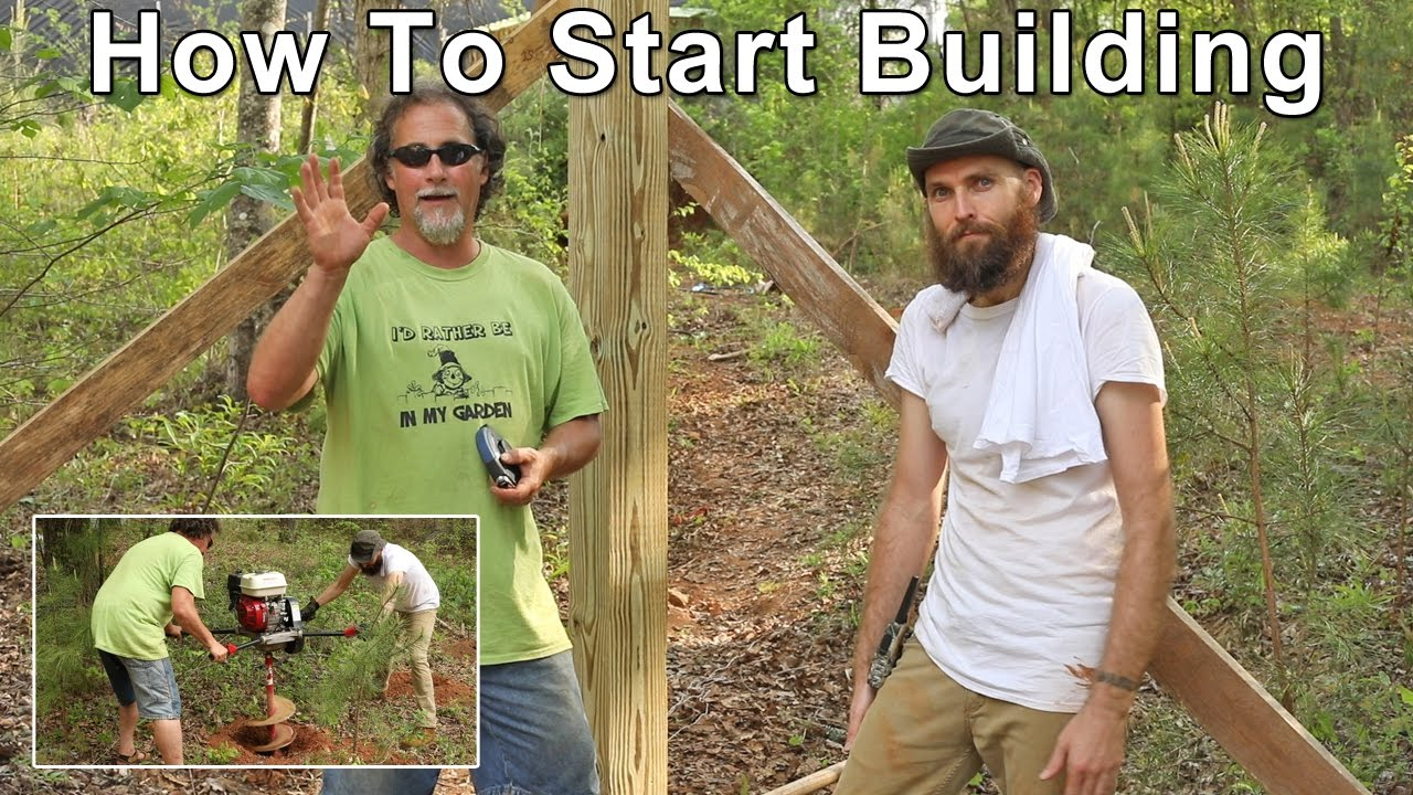 How to start building a tiny home doovi for Where to start when building a house