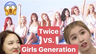 Which TWICE Member Resembles the GIRLS GENERATION Member? - Stafaband
