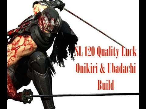 Dark Souls 3 - SL 120 Quality Luck/Hollow/Bleed Onikiri & Ubadachi - PvP  Build Guide
