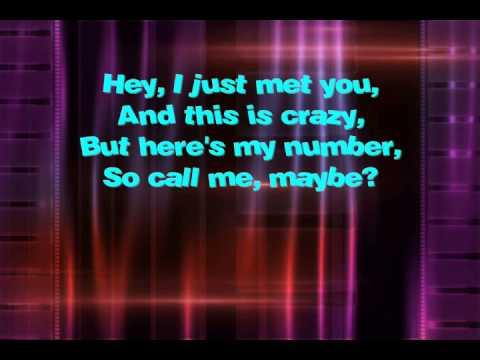 Carly Rae Jepsen - Call Me Maybe (Karaoke/Instrumental)