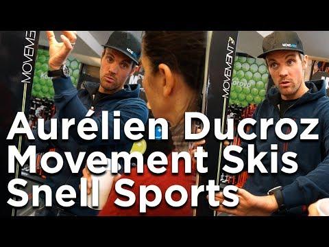 Movement Skis GO Family Aurélien Ducroz Snell Sports Chamonix Mont-Blanc ski alpin freeride