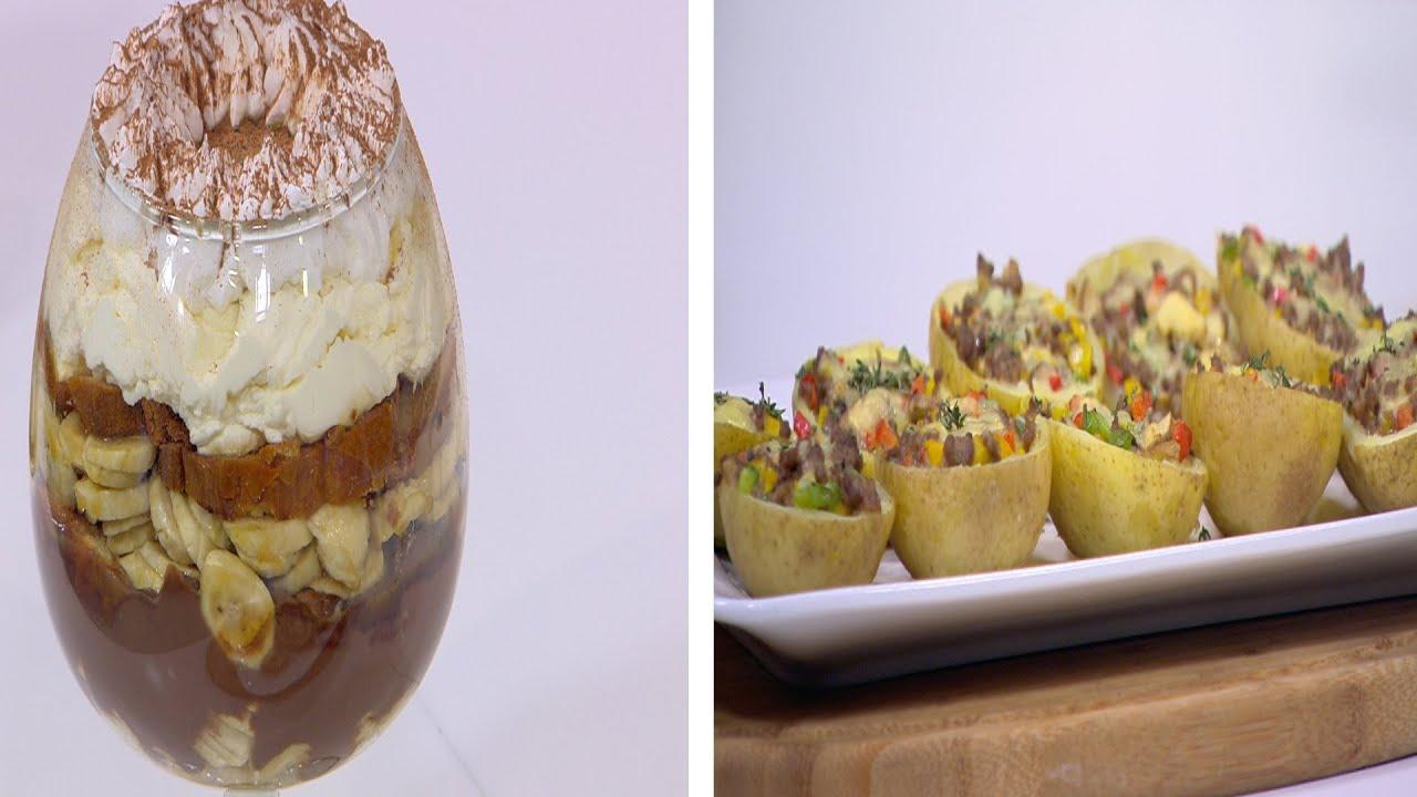 بطاطس محشية و وصفات اخرى : حلو و حادق حلقة كاملة