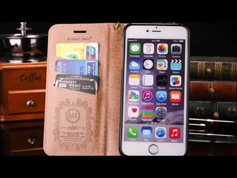 Michael Kors Leather Wallet Flip Case Cover for iPhone