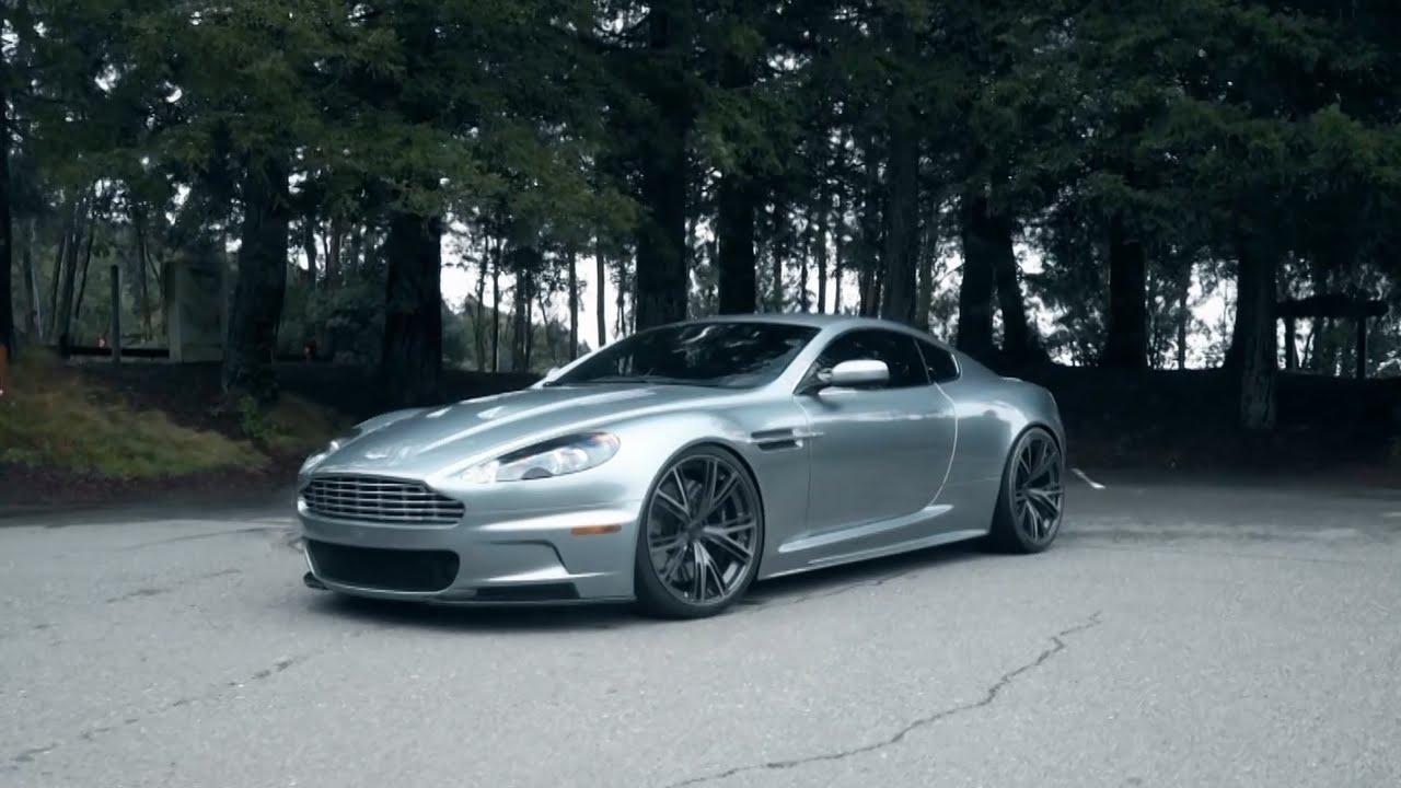 Aston Martin Dbs On Pur 9ine Wheels By California Wheels Youtube