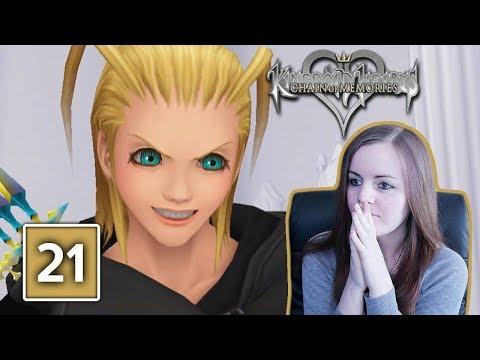 SAVAGE LARXENE   Kingdom Hearts Chain Of Memories Gameplay Walkthrough Part 21