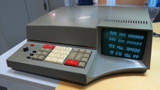 Iskra 1122. Soviet electronic calculator with CRT tube
