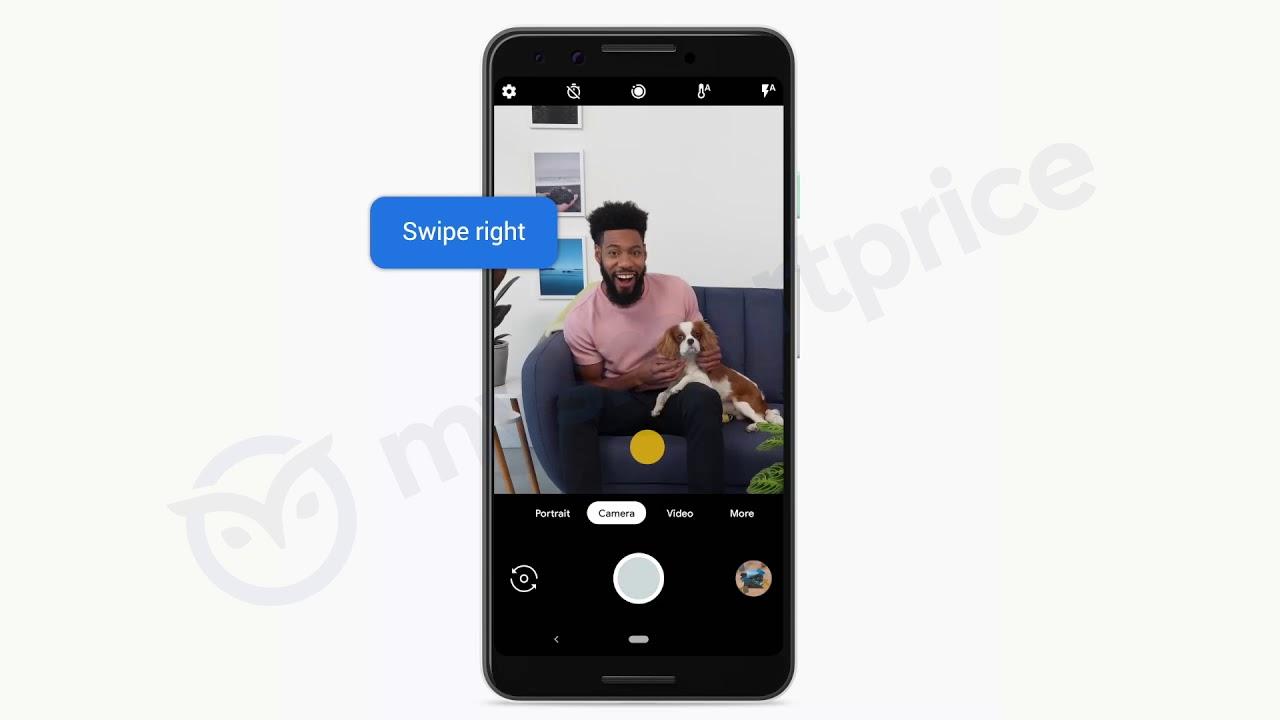 Google Pixel 3-funktioner visas upp i läckt video. Kläm luren för att  starta Assistant  4d80293ccec3c