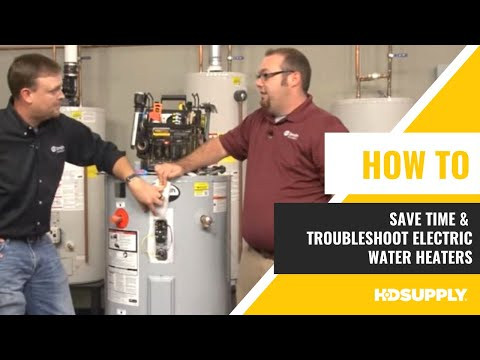 A.O. Smith - Time Saving Tips: Electric Water Heaters - HD Supply Facilities Maintenance
