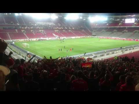 Nach Stuttgart-Pleite! Union-Fans feiern 10 Minuten lang ihr Team im leeren Stadion