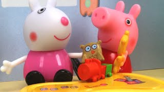 Peppa Pig Toys - Playtime with Suzy Sheep! Peppa Pig Stop Motion thumbnail