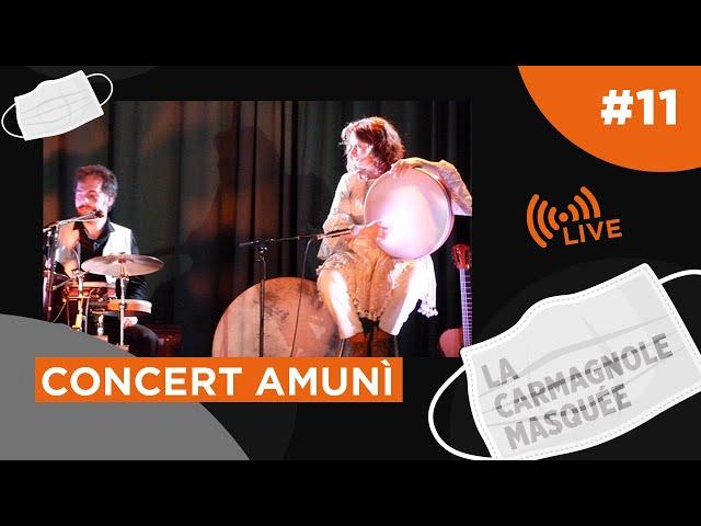 Concert Amunì (en direct et en appartement)