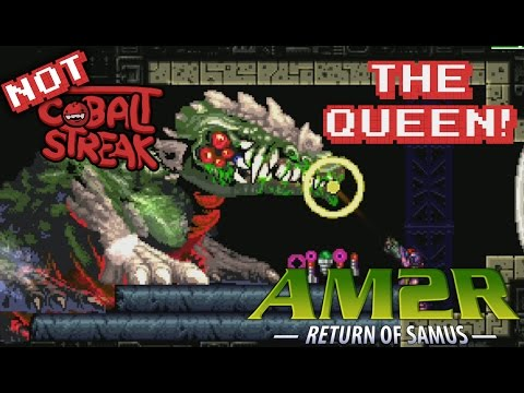 Metroid 2 Remake With The Editor! #08 - The Queen Fight!