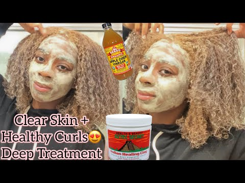 i-used-aztec-indian-clay-mask-on-my-skin-and-type-4b-/-4c-hair- -deep-treatment-for-colored-hair