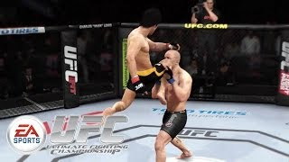 EA Sports UFC - Bruce Lee vs Georges St-Pierre E3 2014 Gameplay TRUE-HD QUALITY