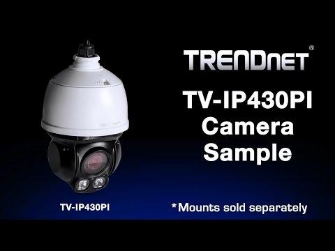 TRENDnet TV-IP430PI Camera Sample