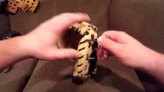 Catchers mitt break in tutorial