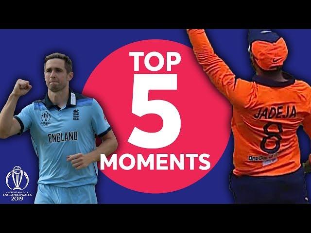 Ravi Jadeja? Chris Woakes? England vs India - Top 5 Moments | ICC Cricket World Cup 2019