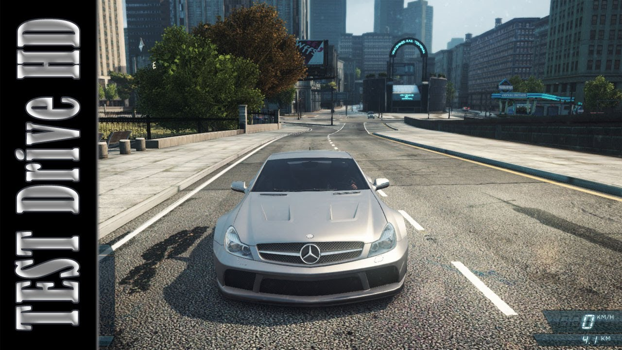 mercedes-benz sl 65 amg - need for speed: most wanted 2012 - test