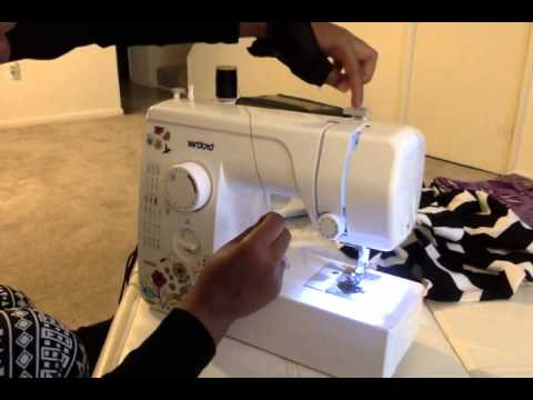 How To Thread The Brother JX40 Sewing Machine YouTube Custom Best Thread For Brother Sewing Machine