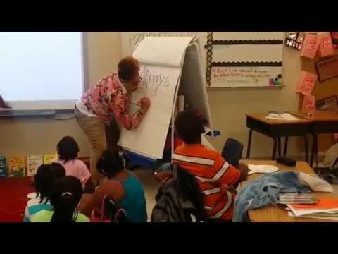 Ms. Berry (Teaching Arrays to My Second Grade Superstars)