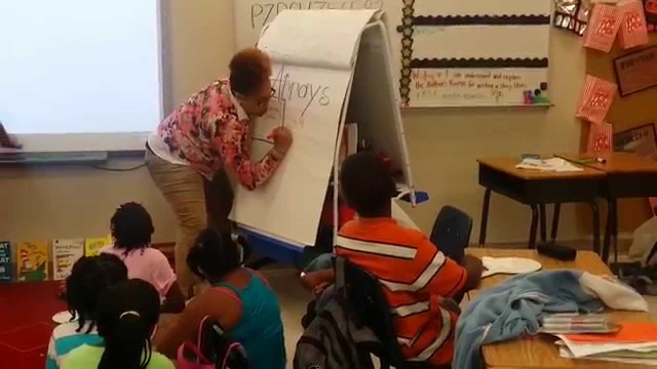 Ms. Berry (Teaching Arrays to My Second Grade Superstars) - YouTube