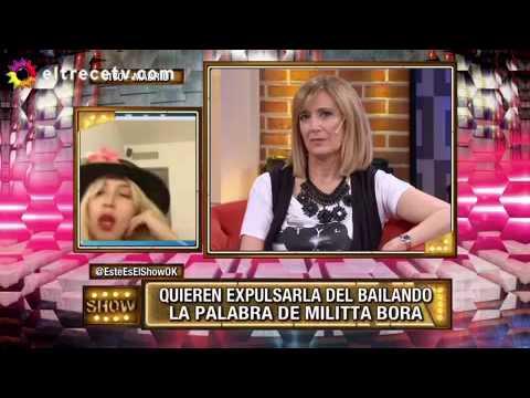 Militta Bora, desde España:  Casi cago a trompadas al del avión