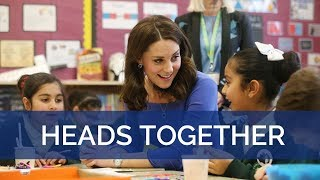 The Duchess of Cambridge launches a new mental health initiative for schools