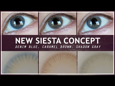 NEW Siesta Concept: Denim Blue, Caramel Brown, & Shadow Gray