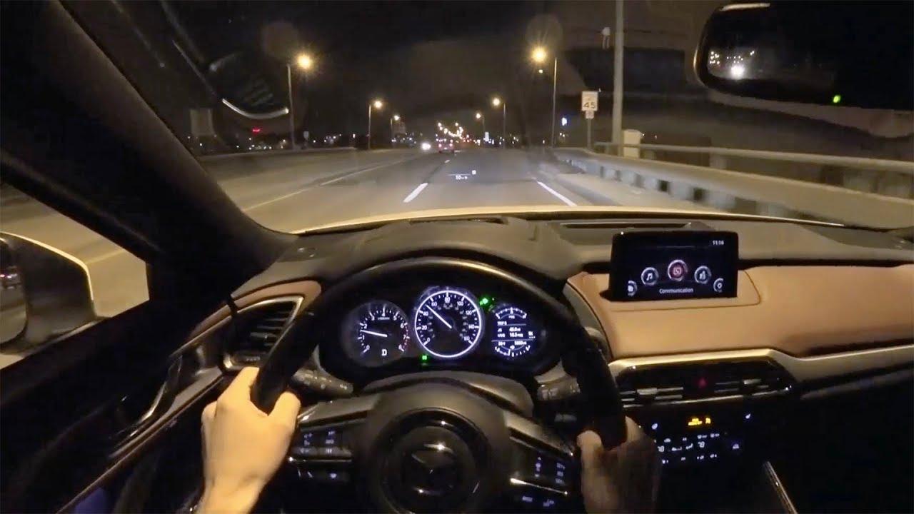 Mazda Cx 9 >> 2018 Mazda CX-9 Signature - POV Night Driving Impressions (Binaural Audio) - YouTube